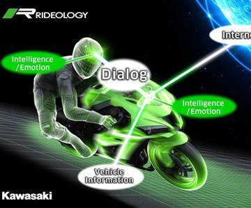 Motorradfahren 2.0:Kawasaki plant Motorrädermit künstlicher Intelligenz
