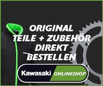 Neuer Onlineshopvon Kawasaki