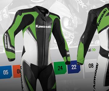 NEW KAWASAKICUSTOM-MADE GEAR.CREATE YOURS!
