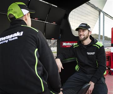 Neue KawasakiRacing TeamKollektion