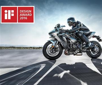Ninja H2 remportele prestigieux prix duIndustrie Forum Design