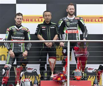 Compétition, un week-end de plus sous la domination Kawasaki