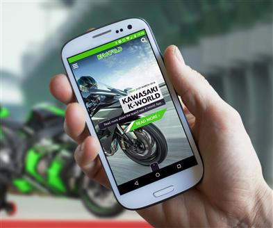 Kawasaki K-World App Launched