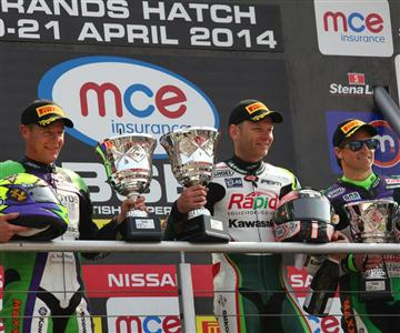 Dream Start to British Superbikes for Kawasaki Riders & Teams
