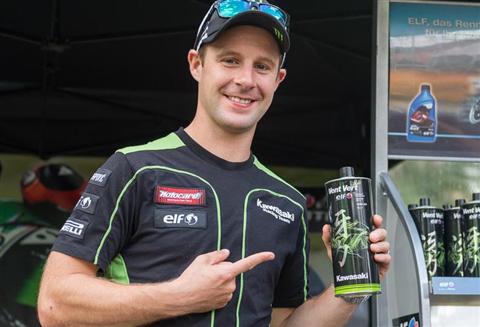 Kawasaki empfiehlt ELF Vent Vert
