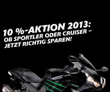 10% sparen auf viele Modelle 2013!