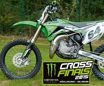 Kawasaki stiftet KX85 Pro bei den Cross Finals