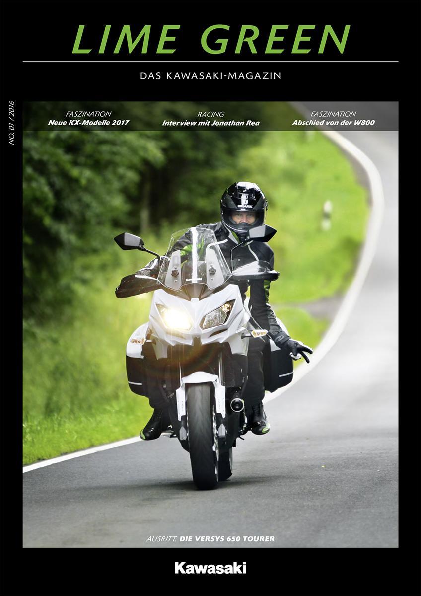 LIME GREEN - Neues Kundenmagazin von Kawasaki erscheint erstmalig