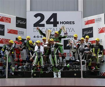 Kawasaki gana las 24 Horas de Catalunya