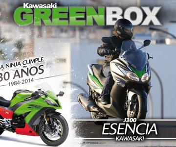 REVISTA DIGITAL GRATUITAKAWASAKI GREEN BOX