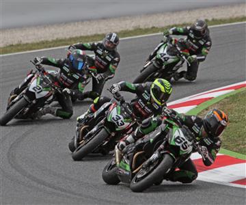 Espectacular carrera de la Z Cup en Montmeló
