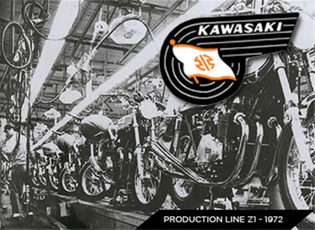 In 1963, Kawasaki and Meguro merged to form Kawasaki Motorcycle Co., Ltd.
