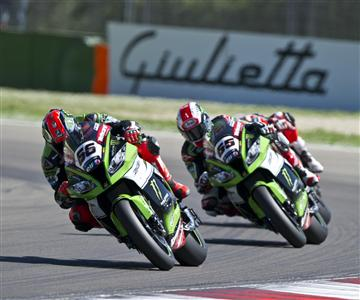 Kawasaki domination at Imola World Superbike round