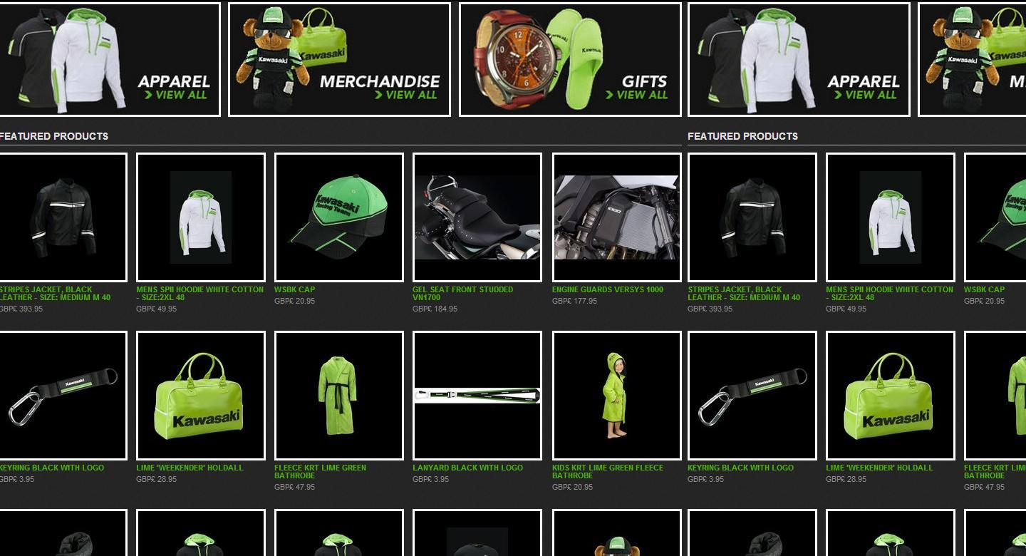 KAWASAKI ONLINESHOP