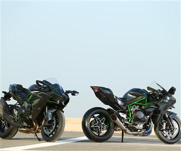 Qatar press launch for Ninja H2 and Ninja H2R