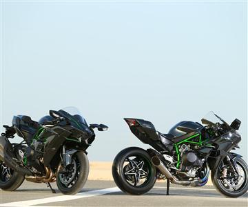 Qatar press launch for Ninja H2 and Ninja H2R