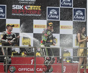 Rea Scores Sensational Double Win For KRT In Thailand