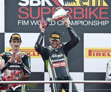 WSBK, Donington,Brilliant Double 1-2 For Sykes And Baz