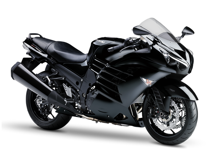 Overview on 2009 zx 14 black