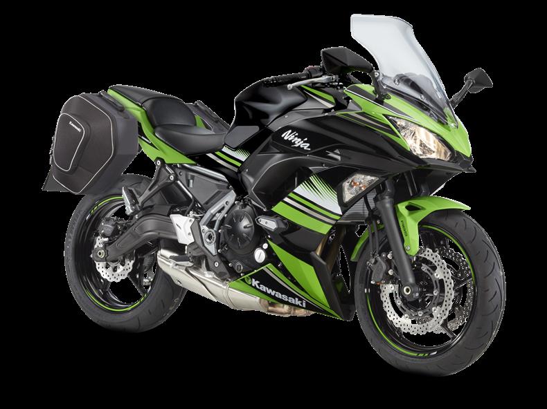 Kawasaki Ninja R Saddlebags
