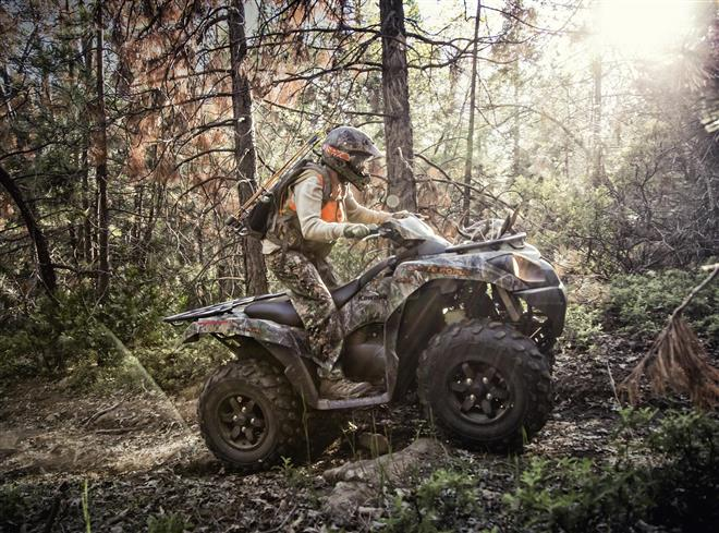 Kawasaki fields a brace of BRUTE FORCE ATV's for 2021