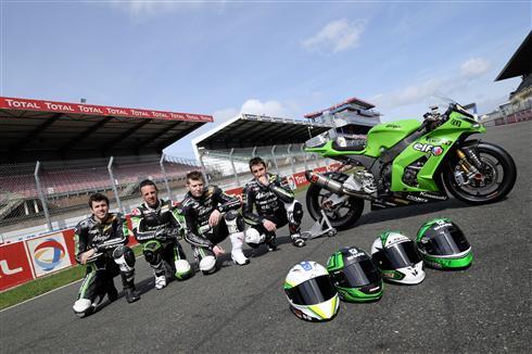 Successful pre Le Mans test for Kawasaki World Endurance team