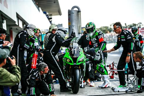 A letdown for SRC and a podium place for Team Green