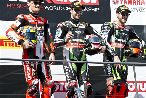 Superb Win For Rea As Sykes Takes Strong Podium