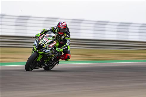 Rea Third Quickest With Haslam Seventh