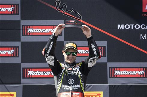Rea Podiums Twice As Haslam Recovers Pace