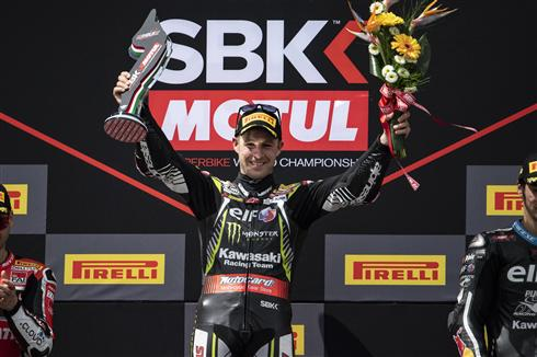 Rea Scores Clear Imola Race Win