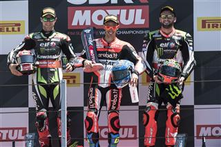 Podium Finishes For Rea and Sykes At Misano