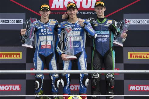 Kalinin Takes Podium Finish In Dramatic WorldSSP300 Race