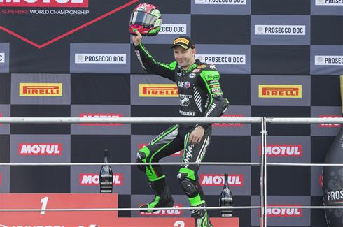 Podium Once Again For Mahias And Kawasaki