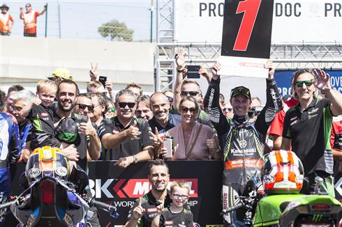 Rea Takes Tenth Race Win Of The Season