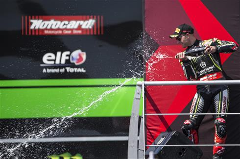 Points Leader Rea Wins Superpole Race
