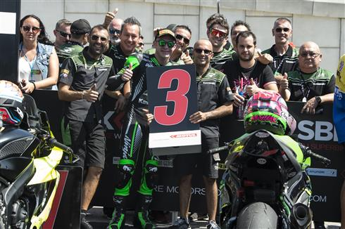 Mahias Takes Podium For Kawasaki