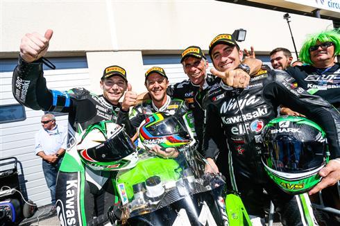 Bol d'Or victory for Team Kawasaki SRC