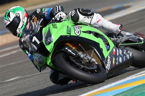 Le Mans Pole Position for Kawasaki SRC