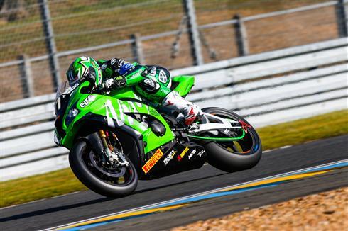 Team Kawasaki SRC well placed at Le Mans