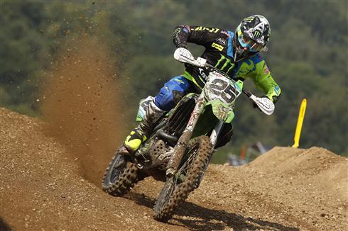 Clement Desalle fourth in Czech Republic