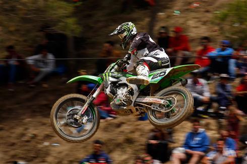 Moto podium for Clement Desalle in Spain