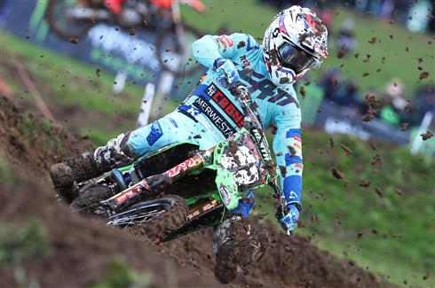 Haarup and Van de Moosdijk top MX2 quali