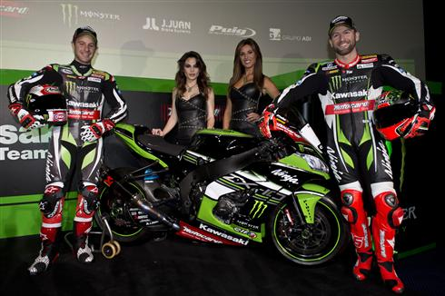 Kawasaki Racing Team Reboot At Barcelona Launch