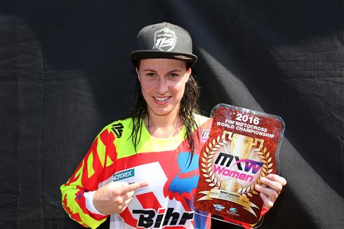 Livia Lancelot extends WMX series lead