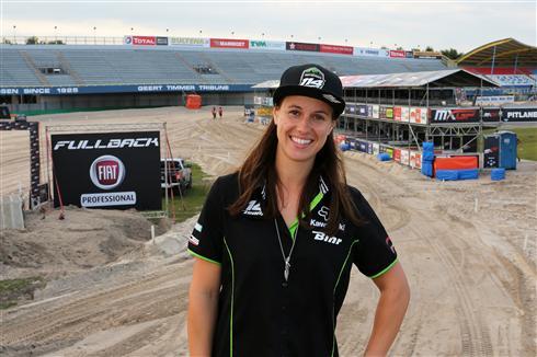 Livia Lancelot ready for the last WMX GP
