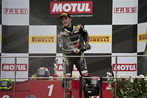 Race Two Podium Extends Rea's Championship Lead