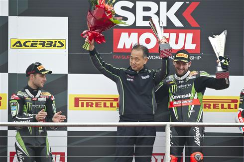 Sykes Doubles Up At Home With Rea Second