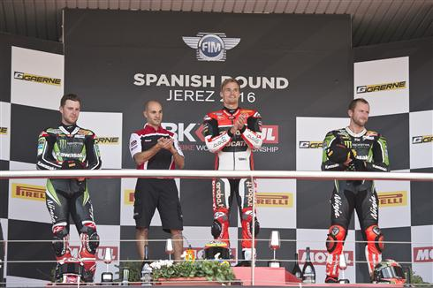 Final Round Showdown Coming For Rea And Sykes After Jerez Podiums