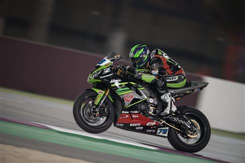 Strong Superpole Results For Kawasaki Riders